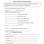Englishlinx | Subject And Predicate Worksheets   9Th Grade English Worksheets Free Printable
