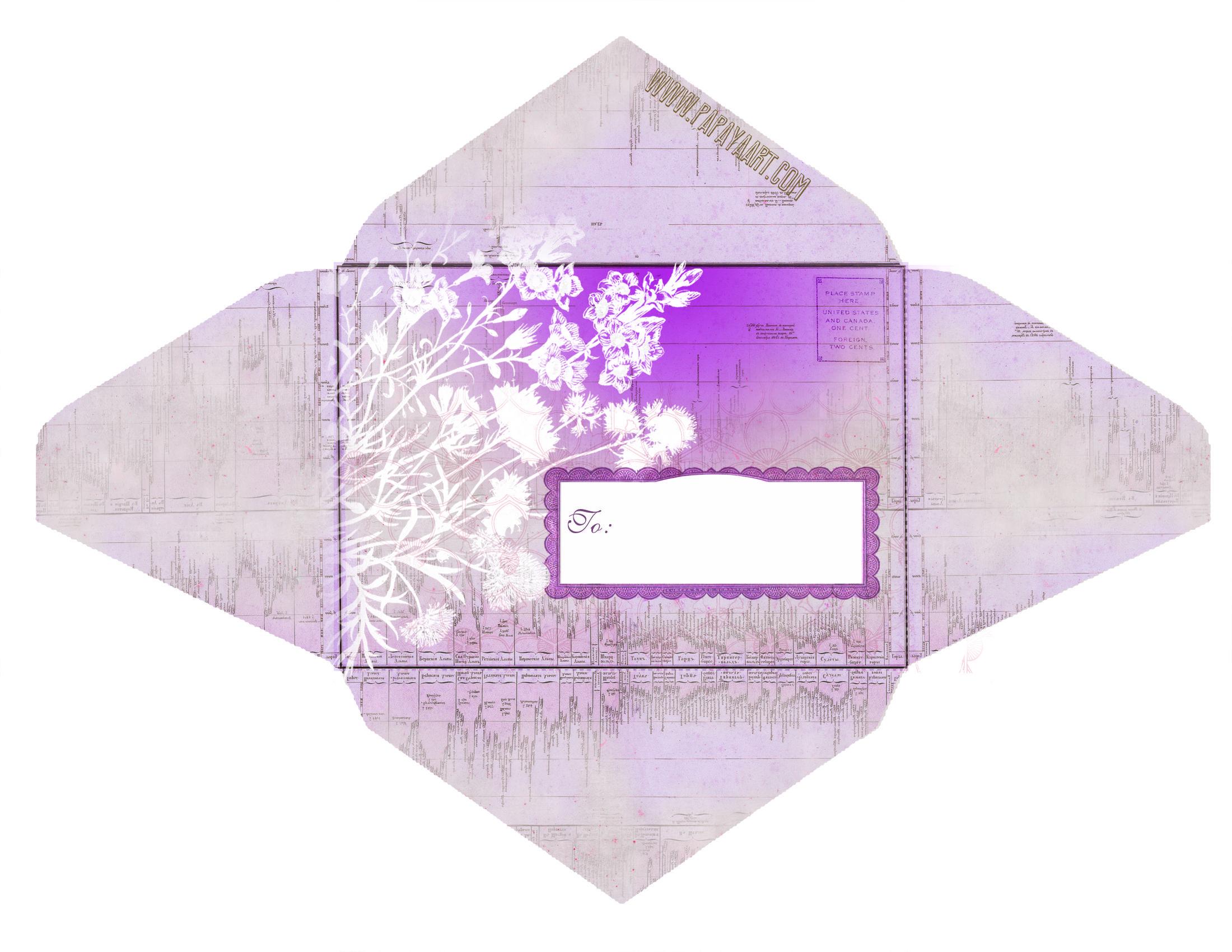 Épinglé Par Nina Sur Enveloppes   Pinterest   Envelope, Paper Et - Free Printable Envelopes