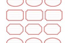 Free Editable Printable Labels
