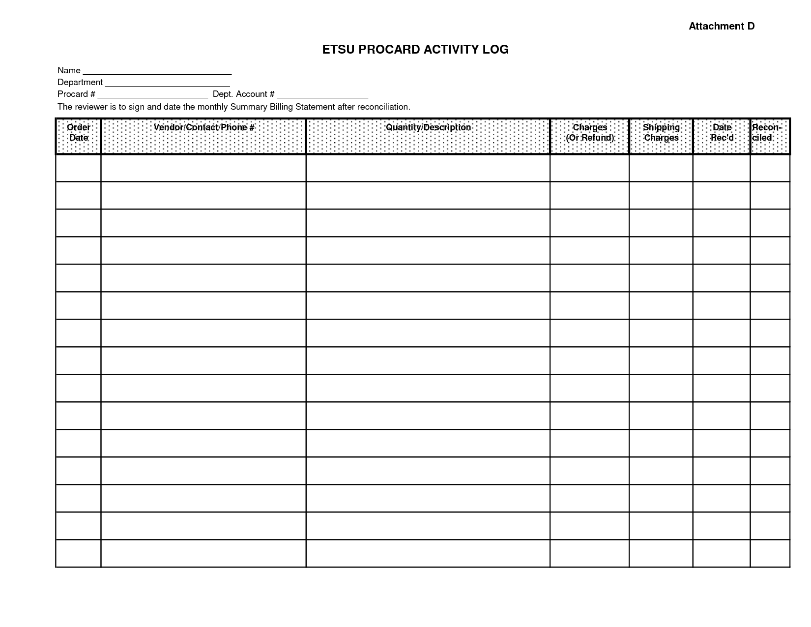 Excellent Monthly Bill Organizer And Spending Activity Log Excel - Free Printable Monthly Bill Payment Worksheet