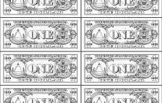 Free Printable Play Dollar Bills
