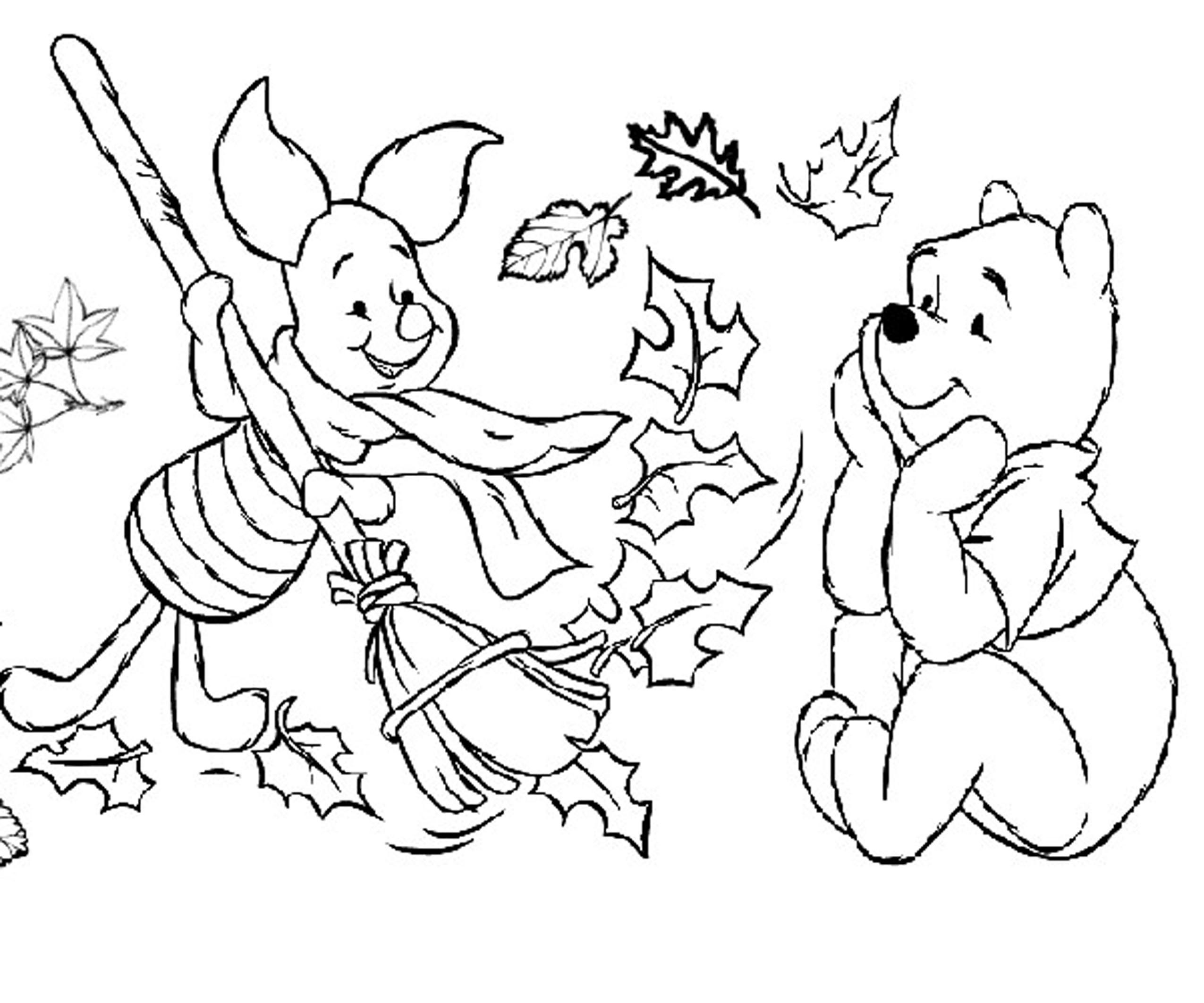 Fall Coloring Sheets Free 5 #6150 - Free Printable Autumn Coloring Sheets