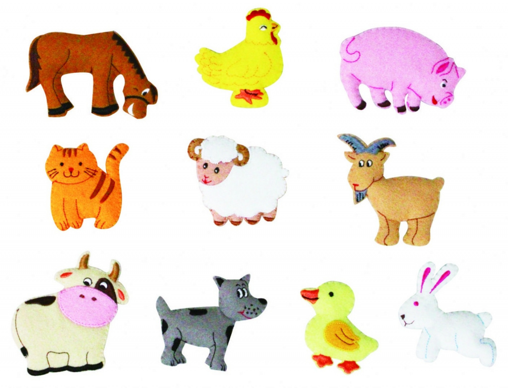 Farm Animals Cut Outs - Kind Of Letters In Free Printable Farm - Free Printable Farm Animal Cutouts