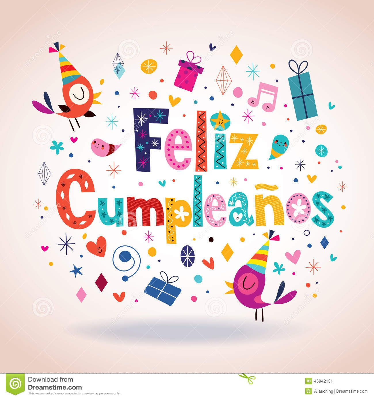 Feliz Cumpleanos - Happy Birthday In Spanish Card - Download From - Free Printable Happy Birthday Cards In Spanish