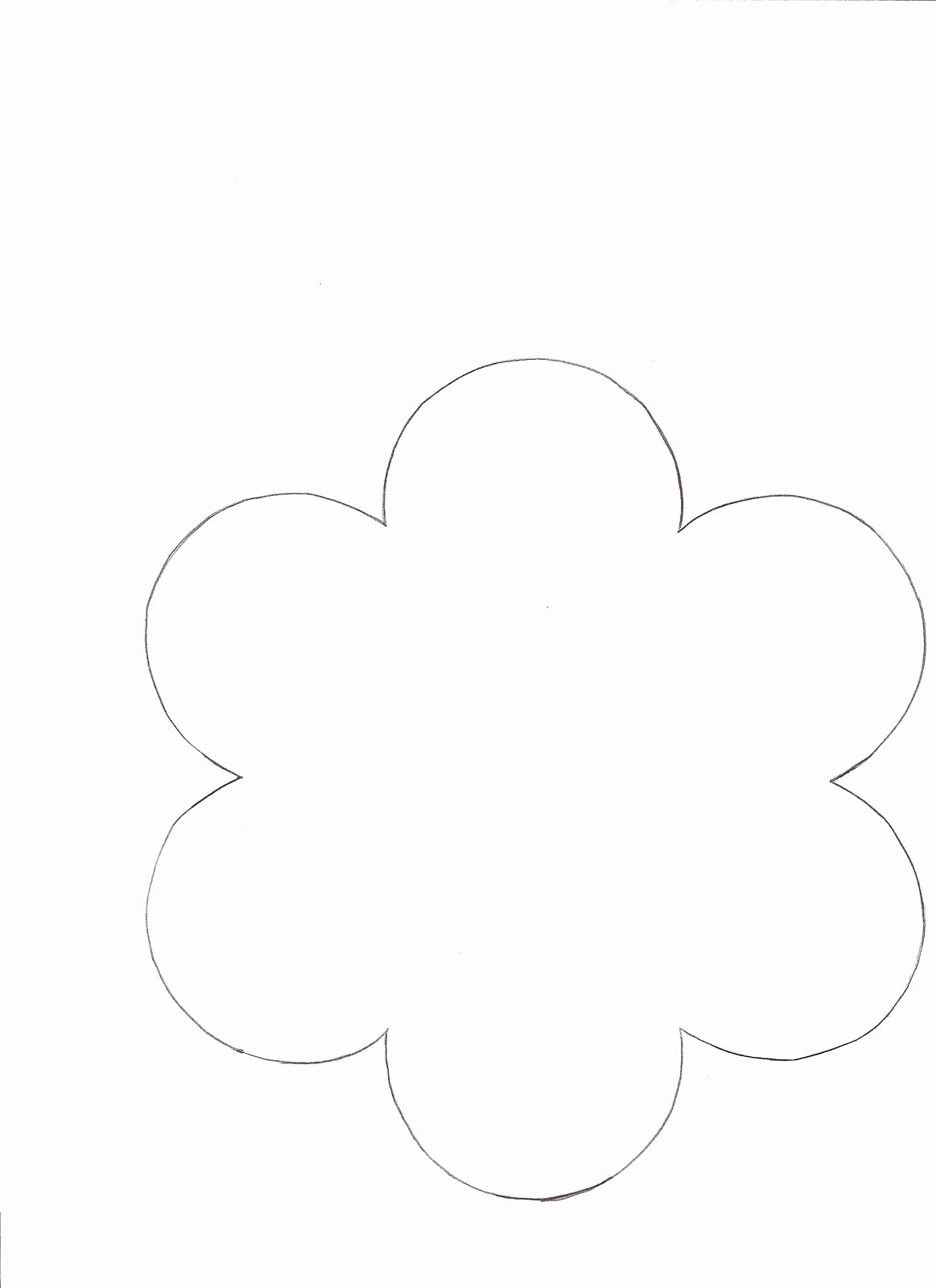 Five Petal Flower Template - Rehau.hauteboxx.co - 5 Petal Flower Template Free Printable
