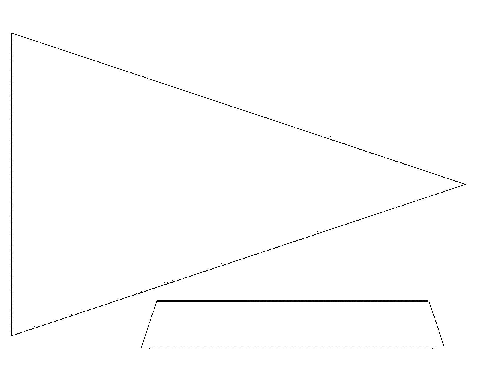 Flag Template - Beepmunk - Free Printable Blank Flag Template