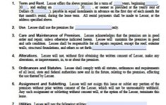 Free Printable Florida Residential Lease Agreement
