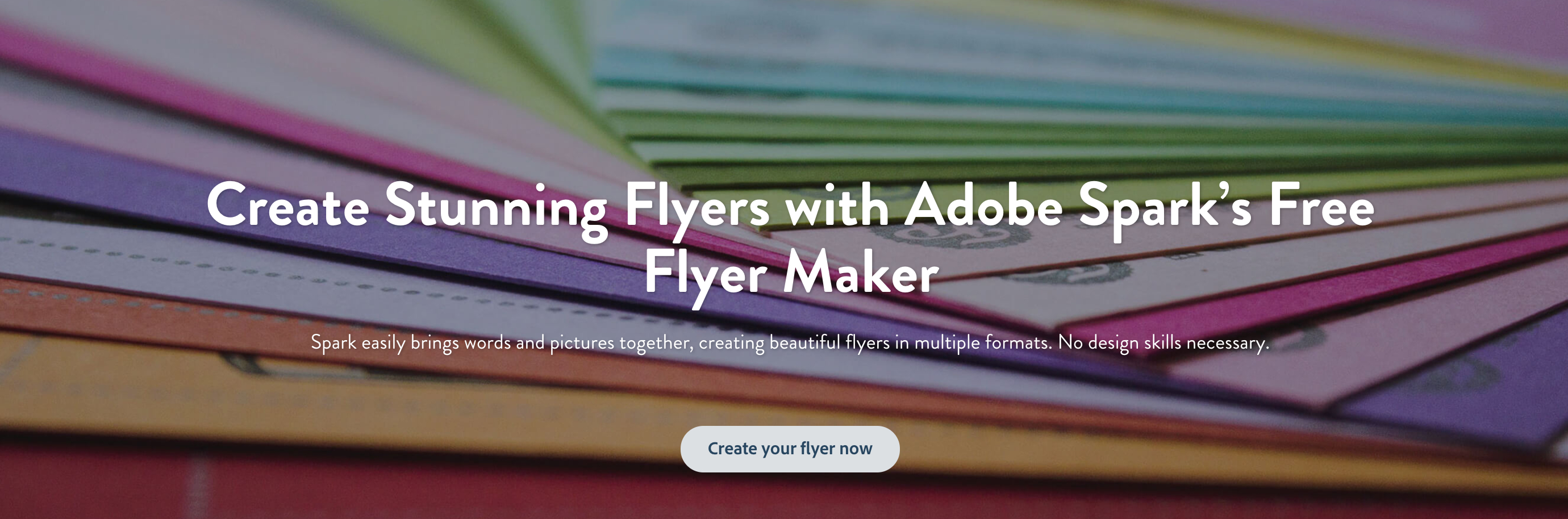 Flyer Maker: Create Beautiful Flyers For Free | Adobe Spark - Free Printable Flyer Maker Online