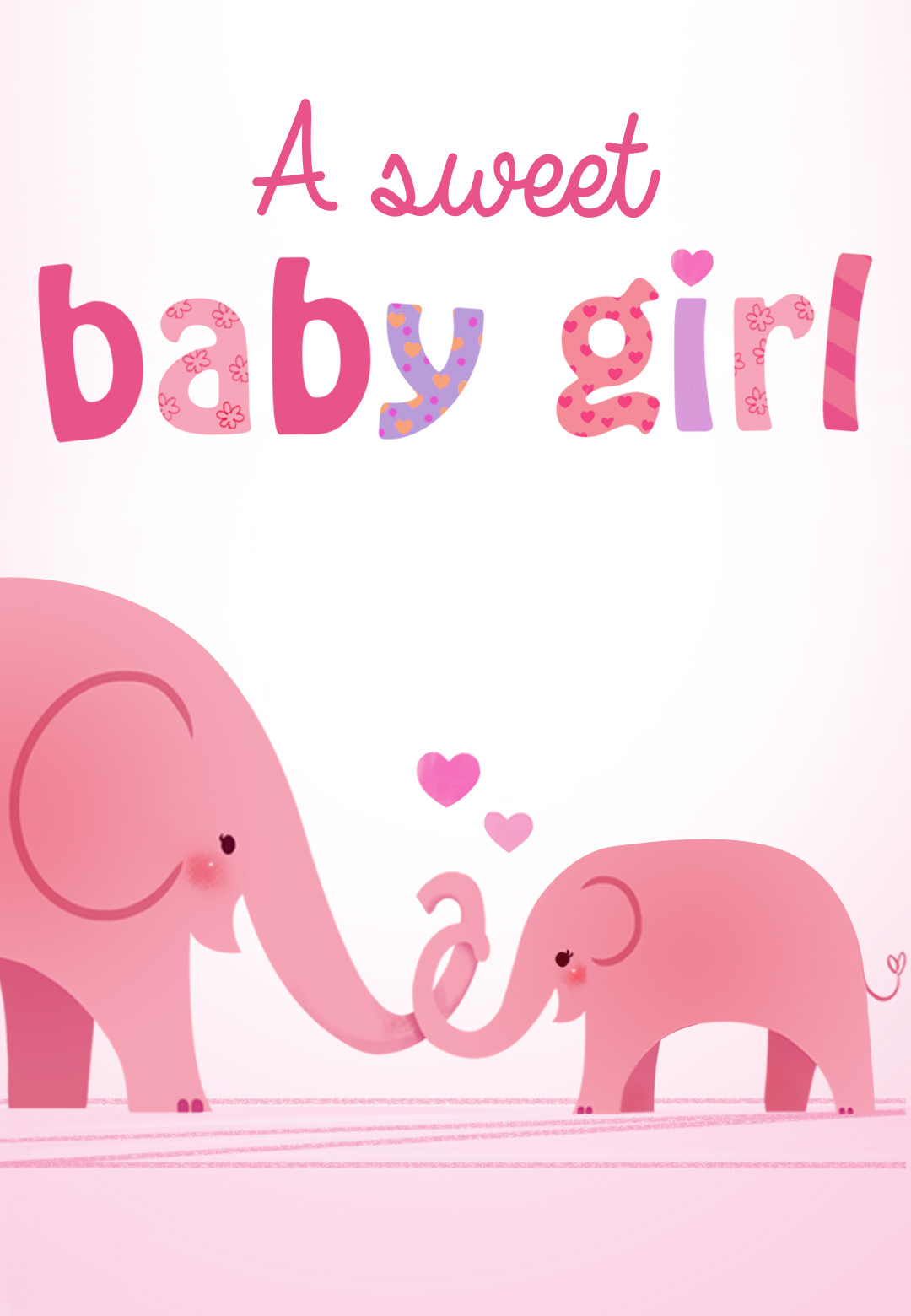 Forever In Your Heart - Free Baby Shower & New Baby Card | Greetings - Free Printable Welcome Cards
