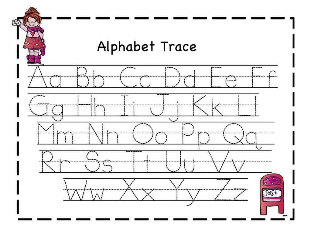 Free Alphabet Tracing Worksheets Free Printable Preschool Worksheets - Free Printable Alphabet Tracing Worksheets