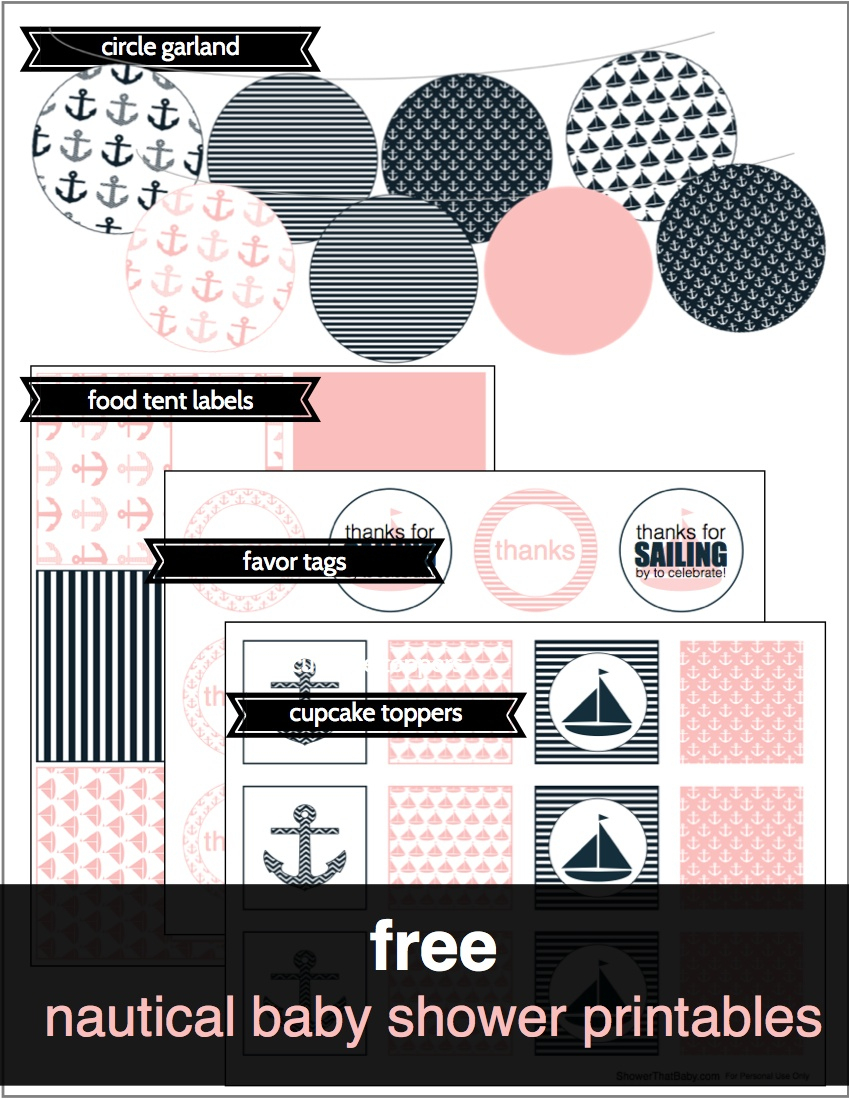Free Baby Shower Printables | Shower That Baby - Free Printable Baby Shower Label Templates