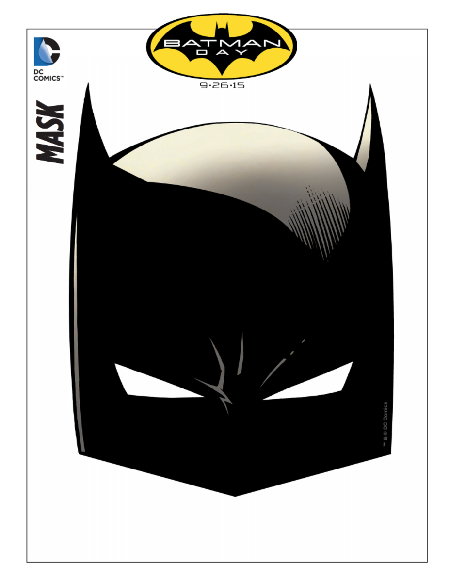 Free Batman Mask And Activity Printables - Today's Mama - Free Printable Batman Pictures