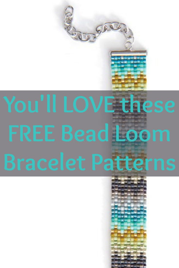 Free Beading Patterns You Have To Try   Beaded Bracelet Making - Free Printable Bead Loom Patterns