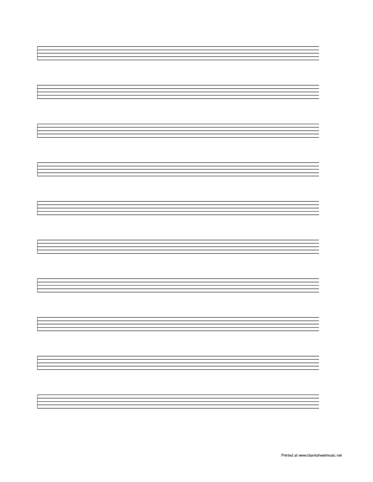 Free Blank Staff Cliparts, Download Free Clip Art, Free Clip Art On - Free Printable Blank Sheet Music
