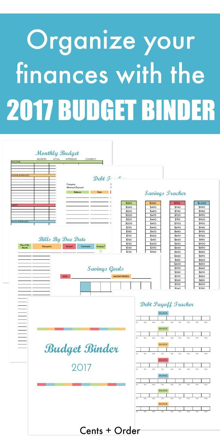 Free Budget Binder Printable: How To Organize Your Finances   Best - Free Printable Financial Binder
