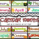 Free Calendar Headings Cliparts, Download Free Clip Art, Free Clip   Free Printable Months Of The Year Labels