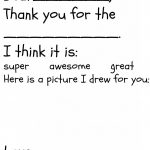 Free Children's Thank You Printable   The Happier Homemaker – Free Christmas Thank You Notes Printable