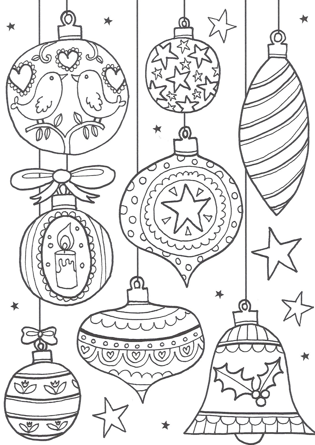 Free Christmas Colouring Pages For Adults – The Ultimate Roundup - Free Printable Coloring Cards For Adults