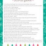 Free Christmas Trivia Game | Lil' Luna   Free Printable Christmas Trivia Quiz