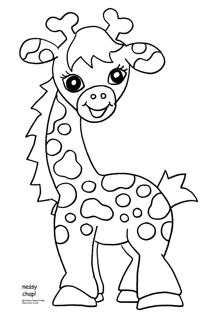 Free Coloring Pages For Kids Zoo Animals - Google Search   Crafts - Free Printable Pictures Of Baby Animals