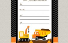 Free Construction Birthday Party Printables. Construction Party – Free Printable Construction Birthday Invitation Templates