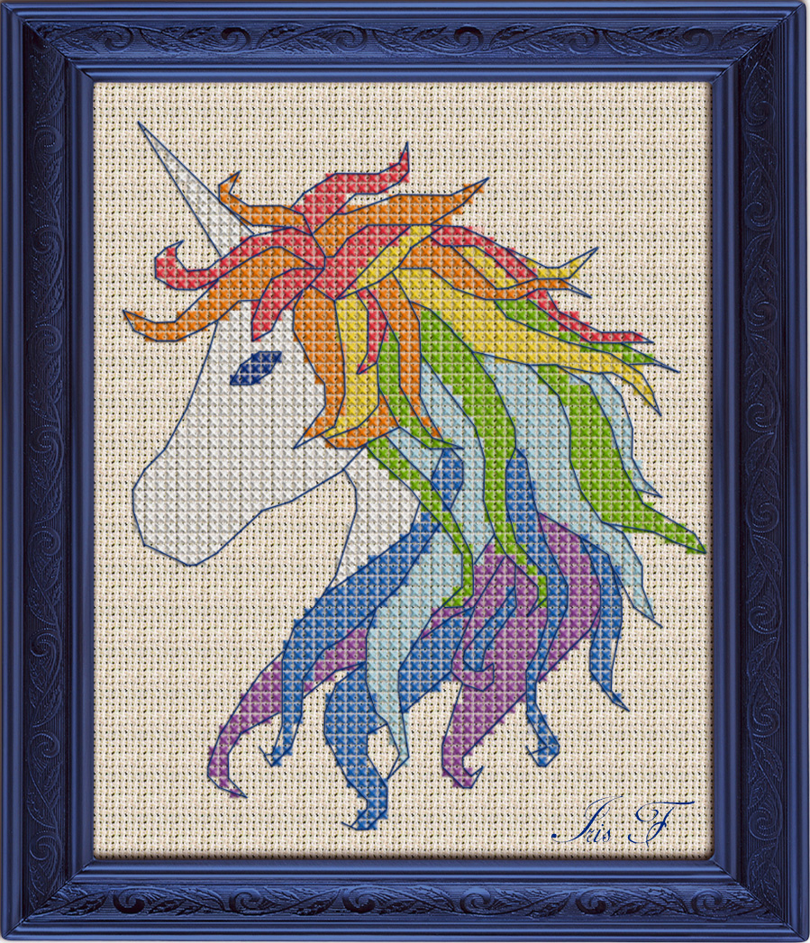 Free Cross Stitch Pattern Unicorn | Diy 100 Ideas - Needlepoint Patterns Free Printable