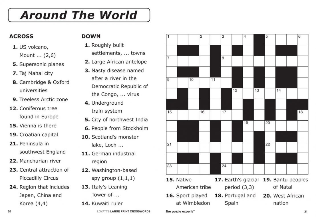 Free Crossword Puzzle Maker To Print With Answer Key Online - Free Crossword Puzzle Maker Printable