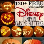 Free Disney Pumpkin Stencils: Over 130 Printable Pumpkin Carving   Hard Pumpkin Carving Patterns Free Printable