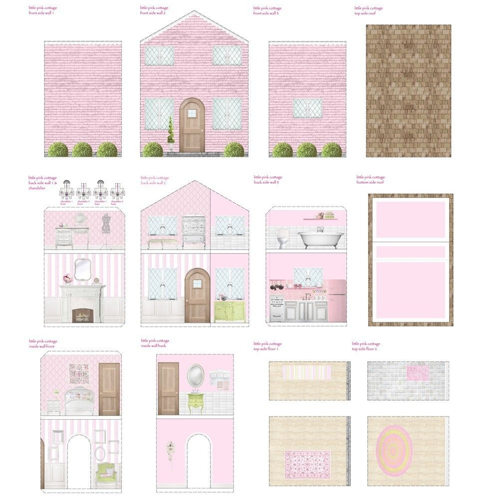 Free Dollhouse Printables | Printable Dollhouse's | Pinterest | Doll - Free Printable Dollhouse Furniture Patterns