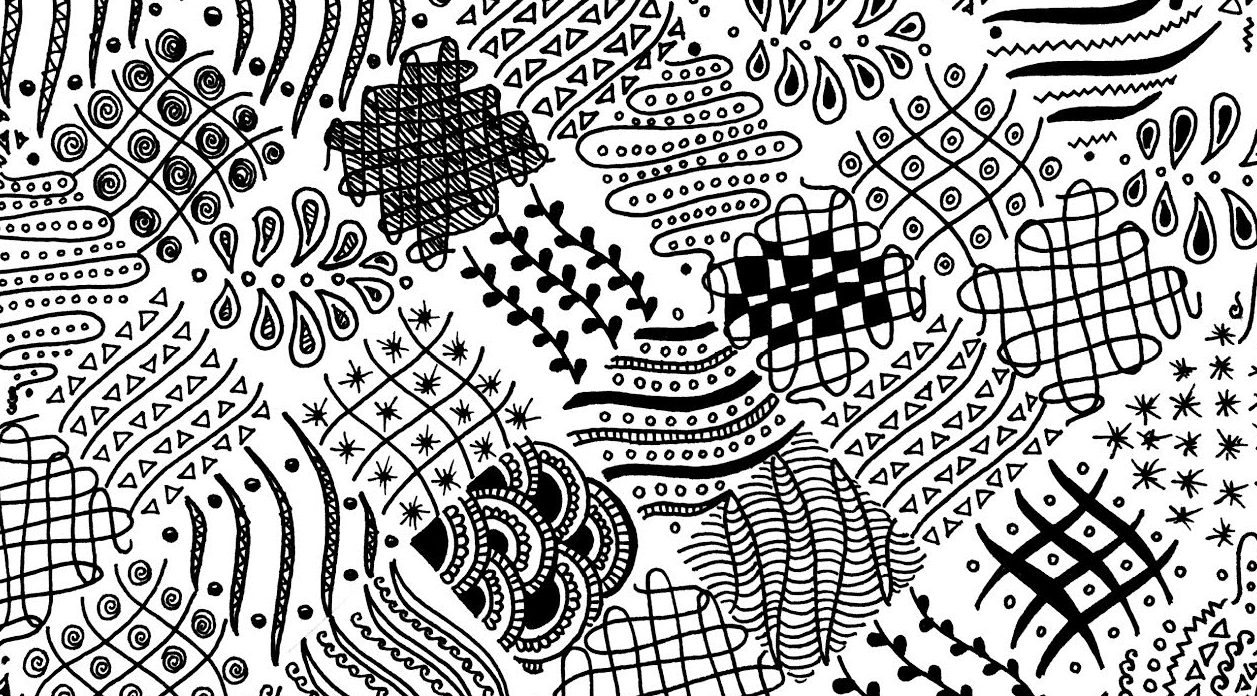 Free Easy Zentangle Pattern - One Platform For Digital Solutions - Free Printable Zentangle Templates