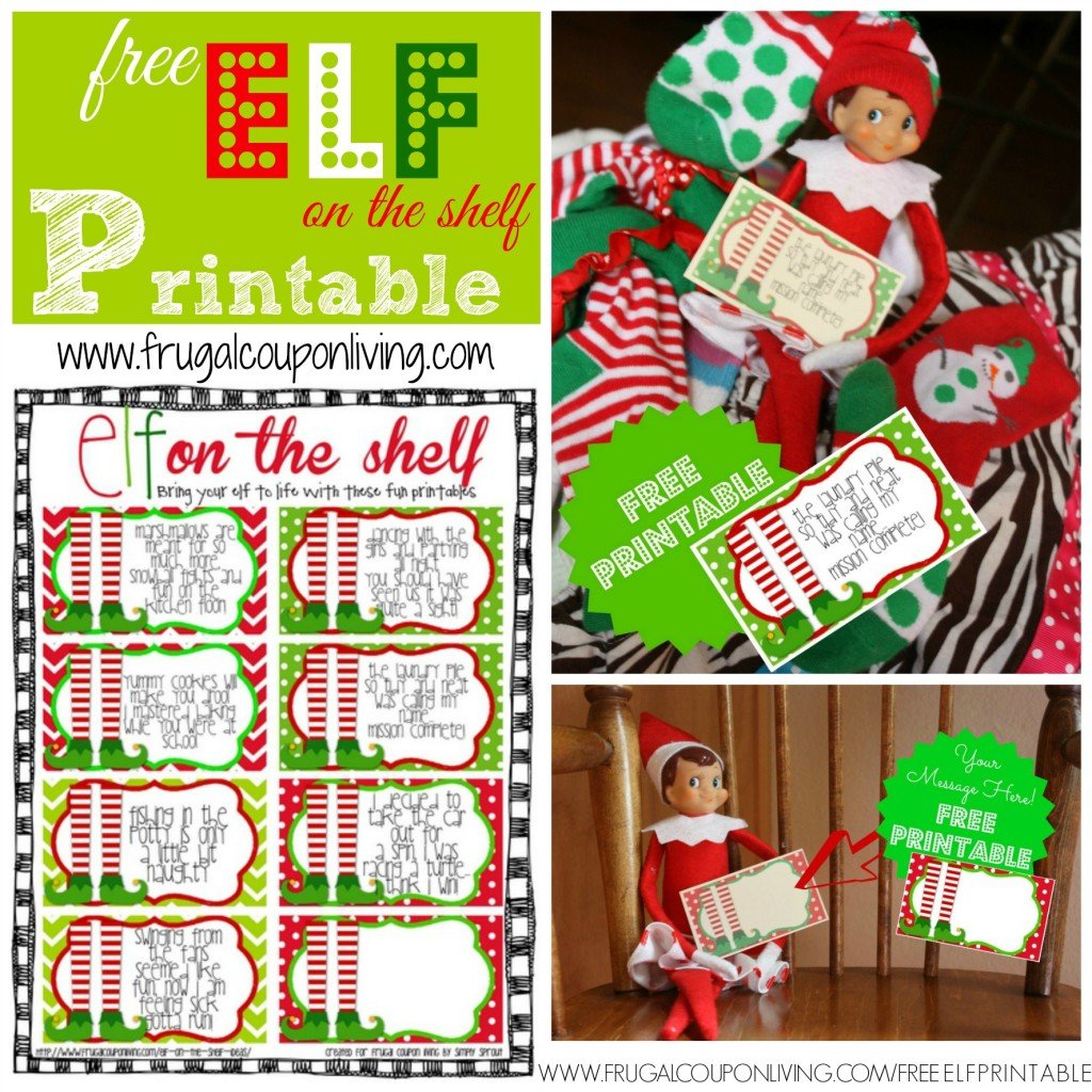 Free Elf On The Shelf Printable Notes - Free Printable Elf On The Shelf Notes