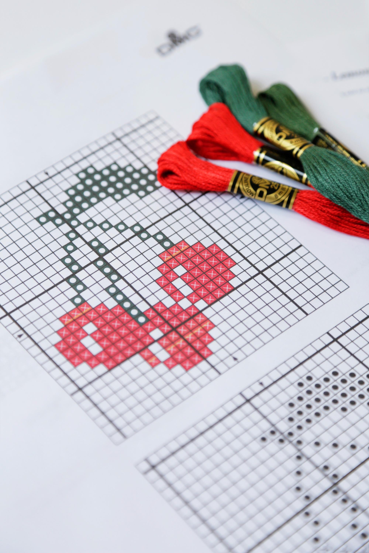 Free Embroidery ,cross Stitch Patterns , Crochet And Knitting - Free Printable Modern Cross Stitch Patterns