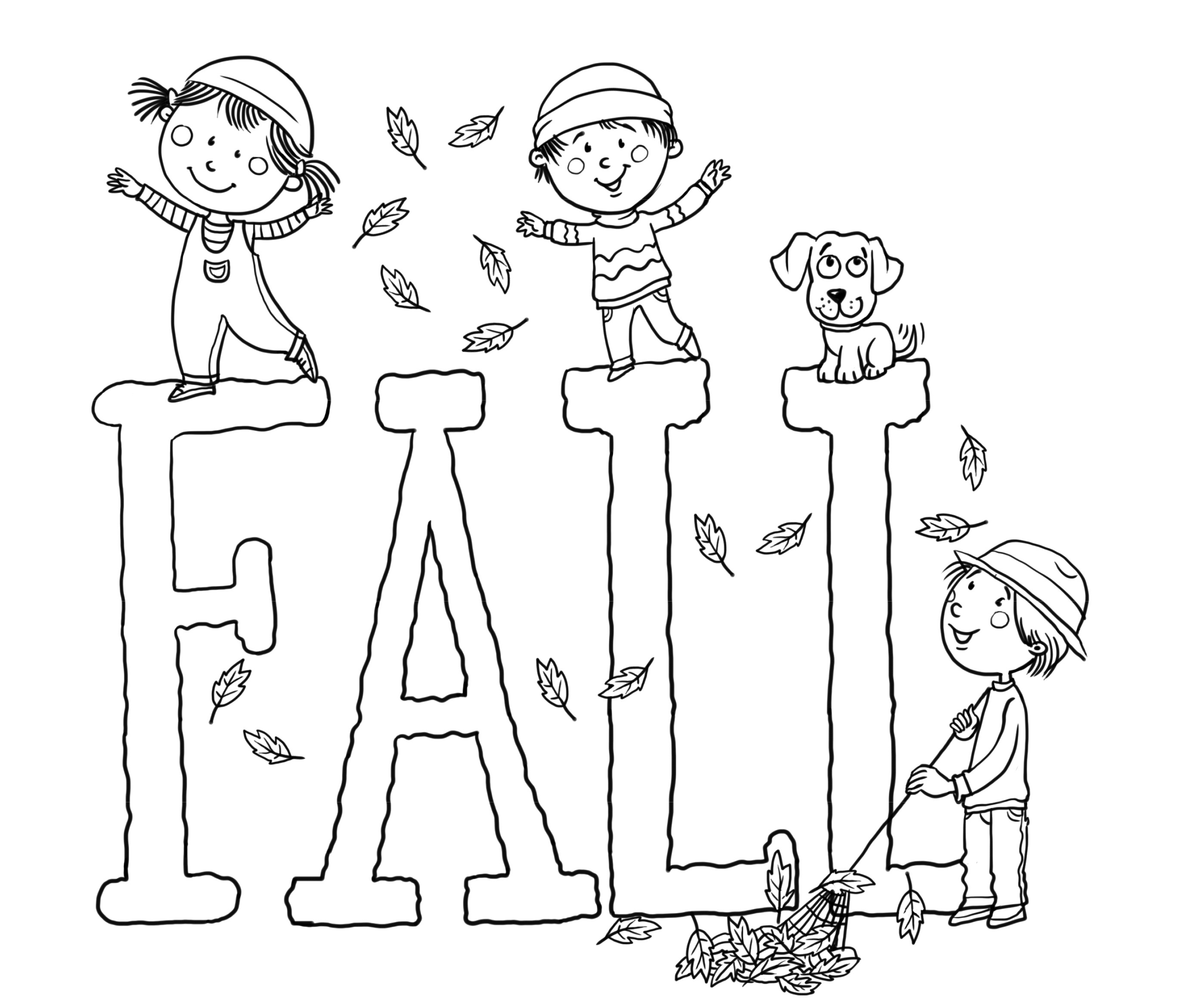 Free Fall Printables Coloring Pages Print   Diywordpress - Free Fall Printable Coloring Sheets