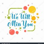 Free Farewell Card Business Charts Family Chore Chart Yourweek In We – Free Printable We Will Miss You Greeting Cards