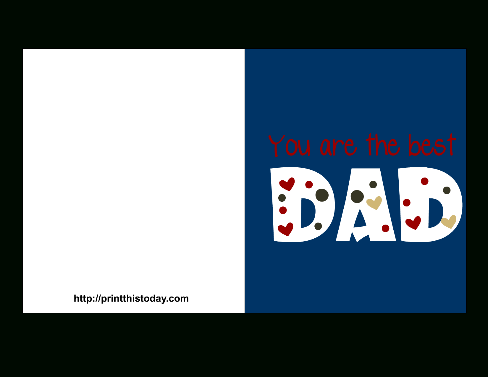 Free Father's Day Cards (Printable) - Free Printable Fathers Day Cards