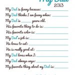 Free Fathers Day Printable | It's Preschool (Song) Prek   Free Printable Fathers Day Cards For Preschoolers