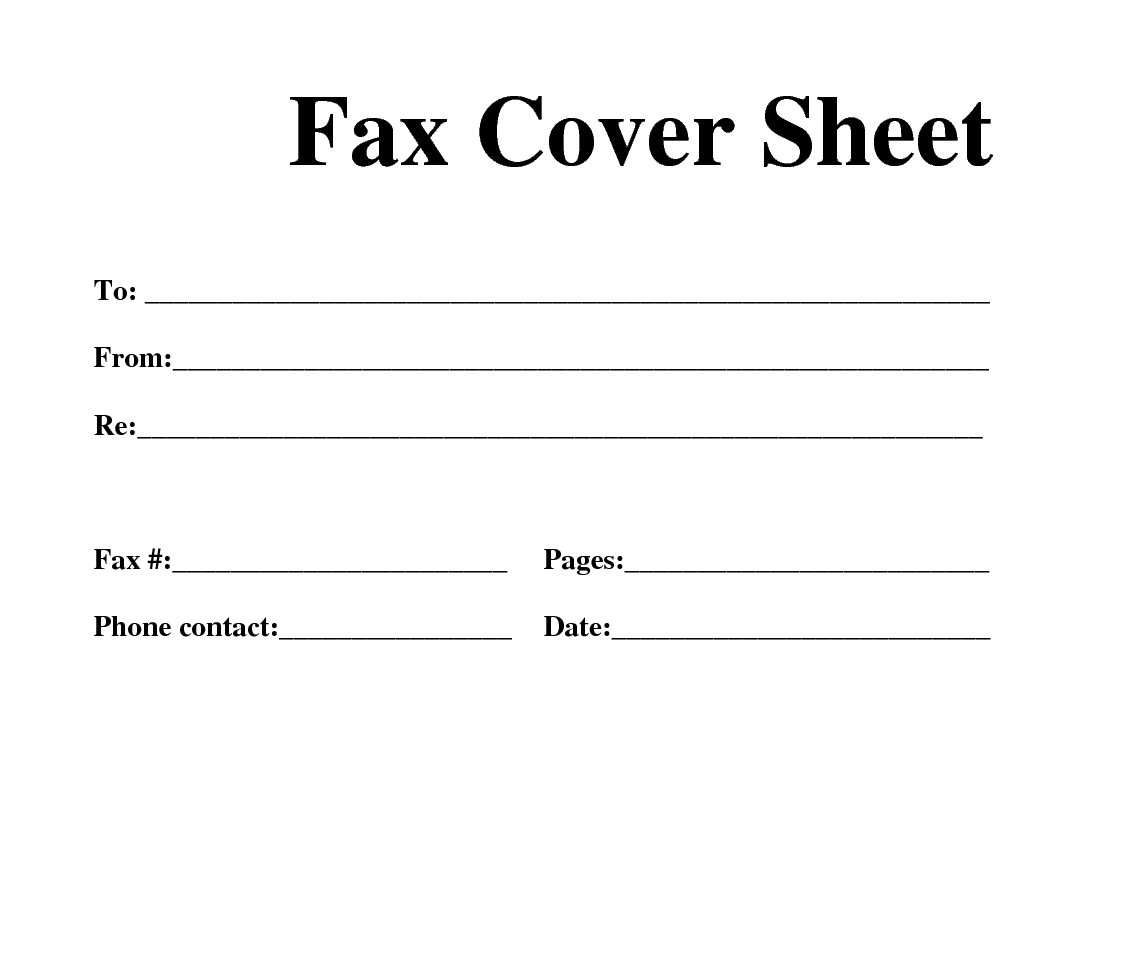 Free Fax Template Download | [Free]* Fax Cover Sheet Template - Free Printable Fax Cover Sheet