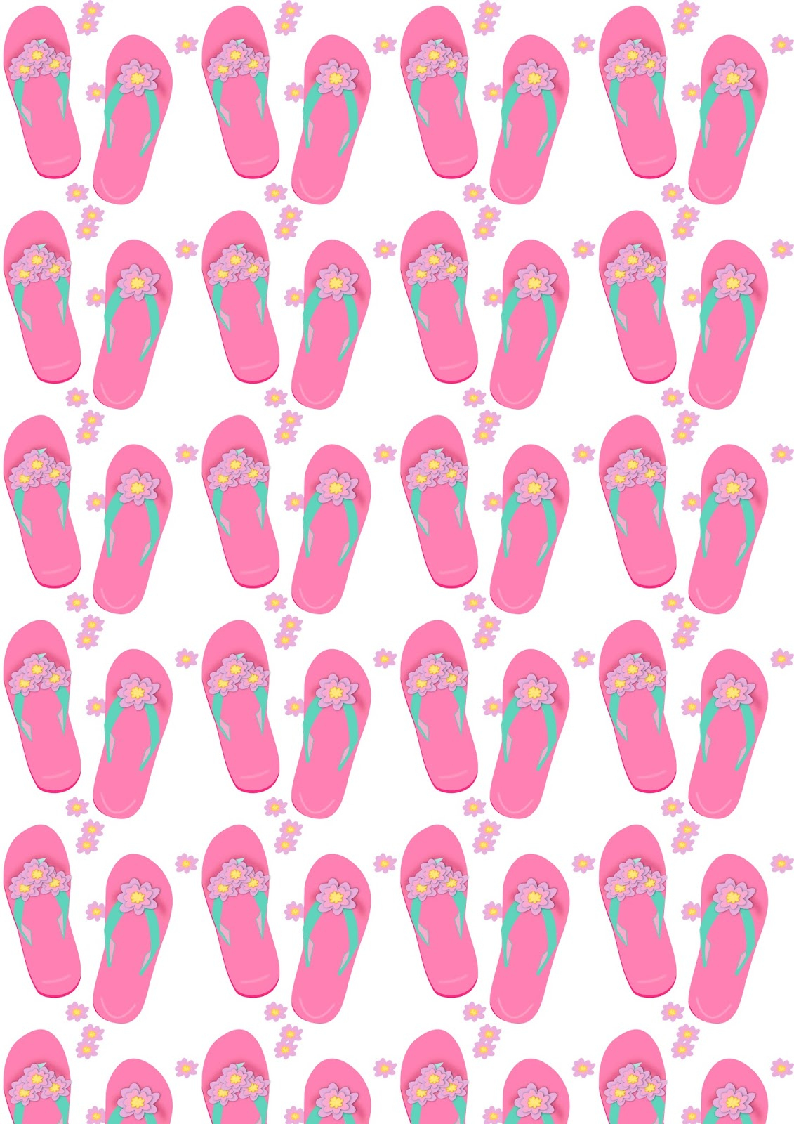 Free Flip Flop Pattern, Download Free Clip Art, Free Clip Art On - Free Printable Flip Flop Pattern