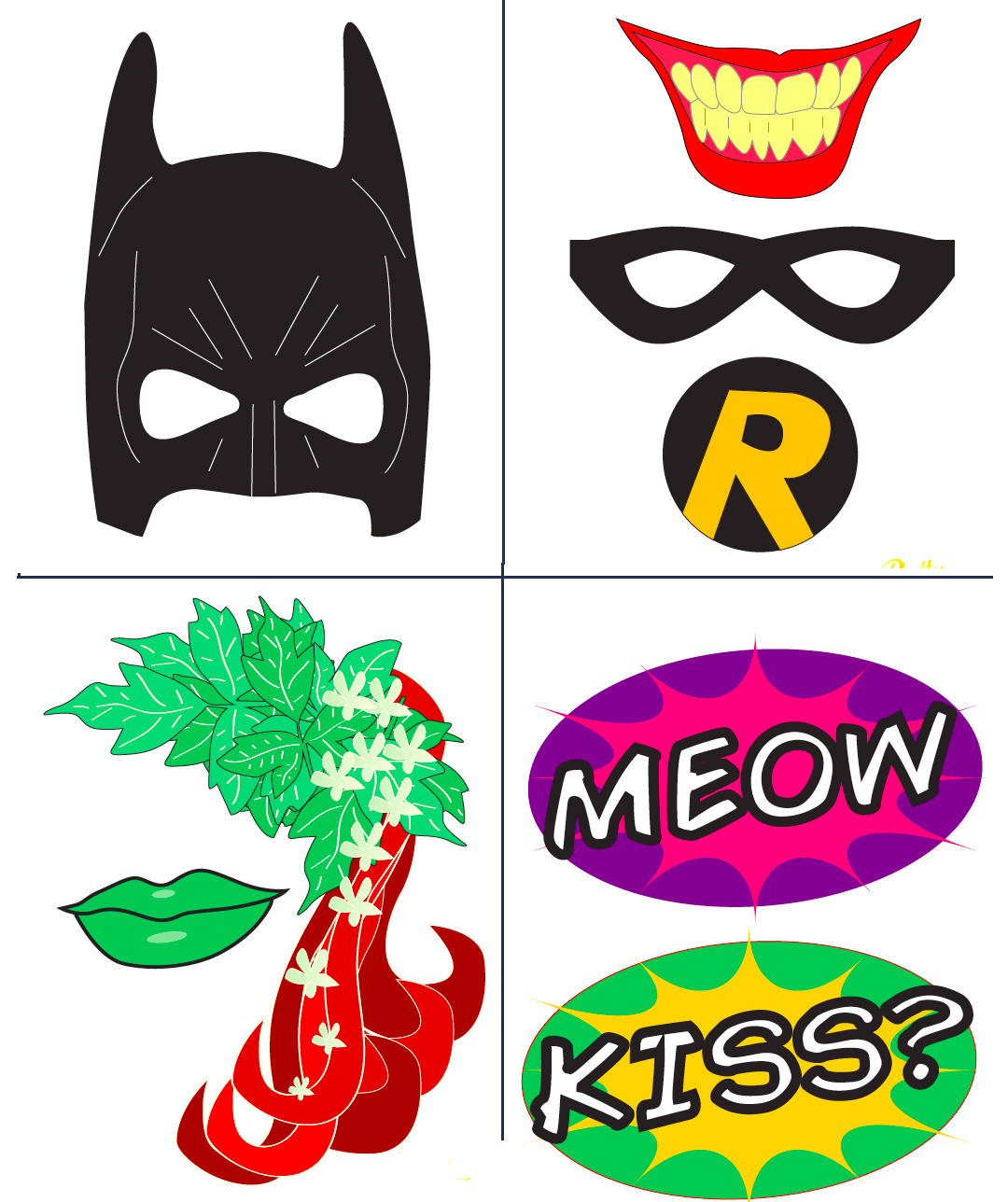 Free Free Batman Printables, Download Free Clip Art, Free Clip Art - Free Printable Batman Pictures