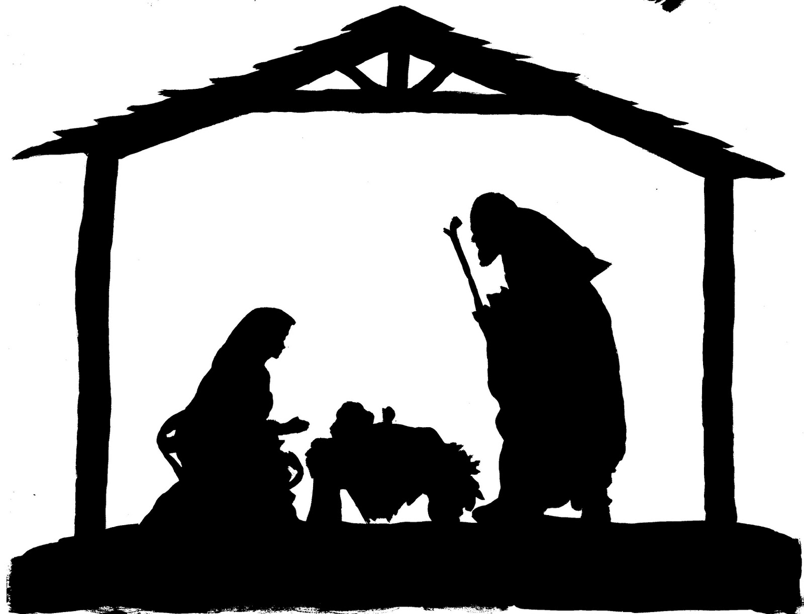 Free Free Nativity Scene Clipart, Download Free Clip Art, Free Clip - Free Printable Nativity Scene Pictures