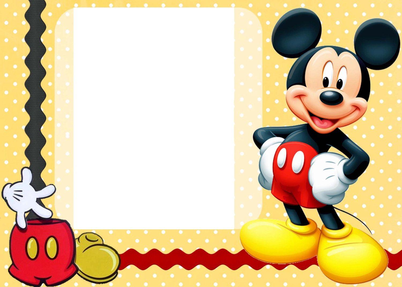 Free Free Printable Custom Mickey Mouse Baby Shower Invitation - Free Printable Mickey Mouse Invitations