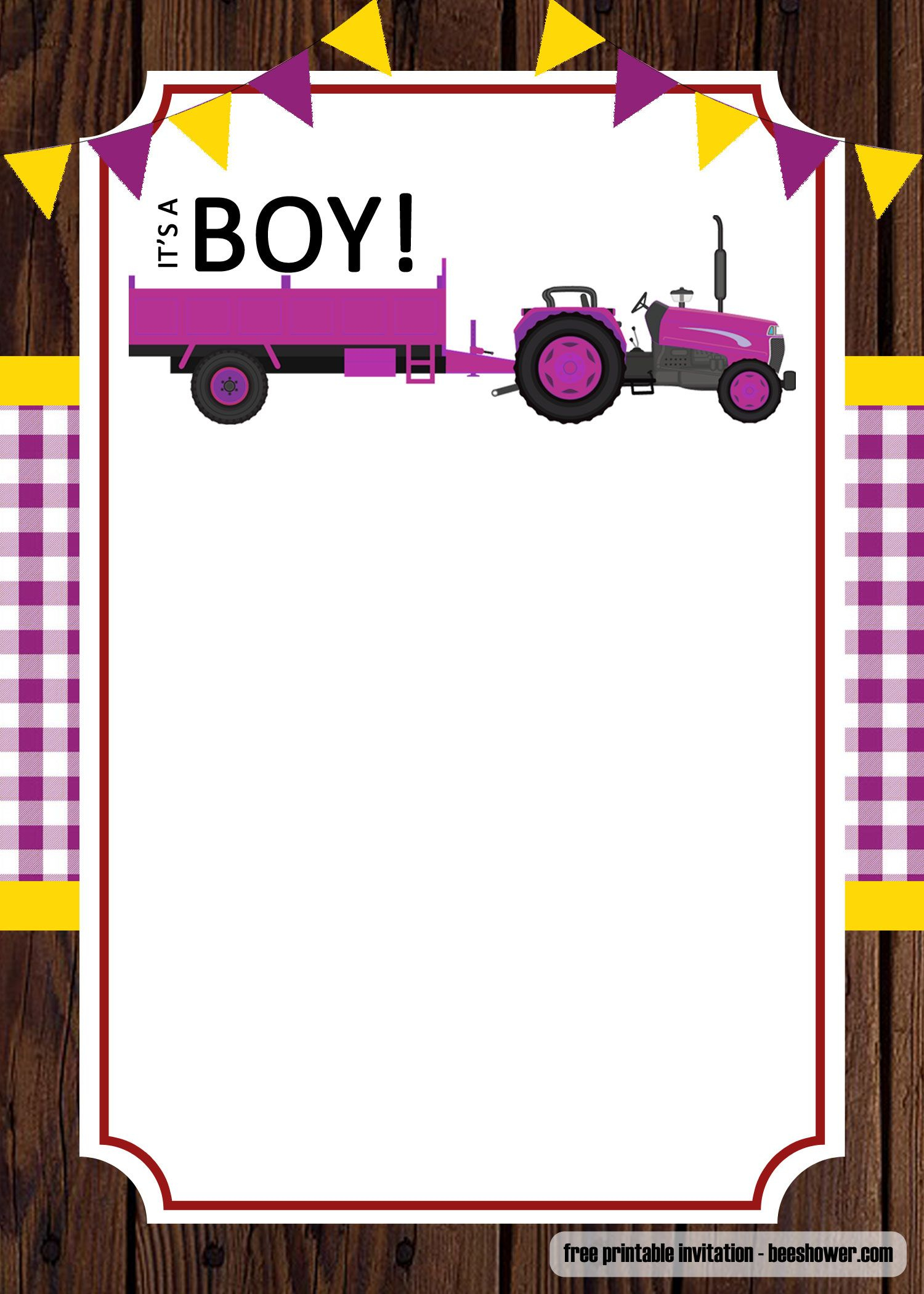Free Free Printable John Deere Baby Shower Invitations Templates - Free Printable John Deere Baby Shower Invitations