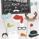 Free Fun Printable Christmas Props | Wedding Stationery From – Free Printable Christmas Props