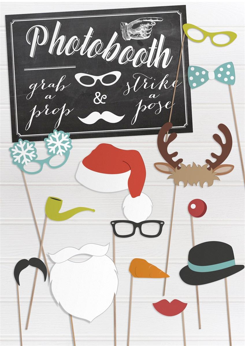 Free Fun Printable Christmas Props | Wedding Stationery From - Free Printable Christmas Props