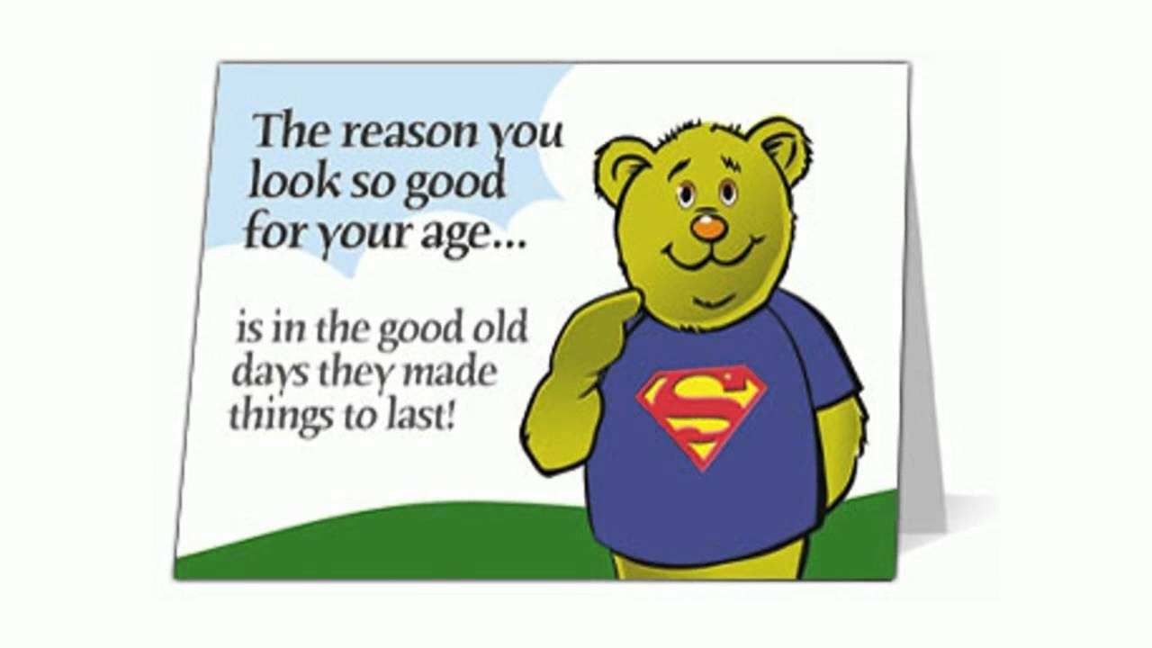 Free Funny Birthday Ecards For Son – Youtube With Regard To Free - Free Printable Funny Birthday Cards For Adults