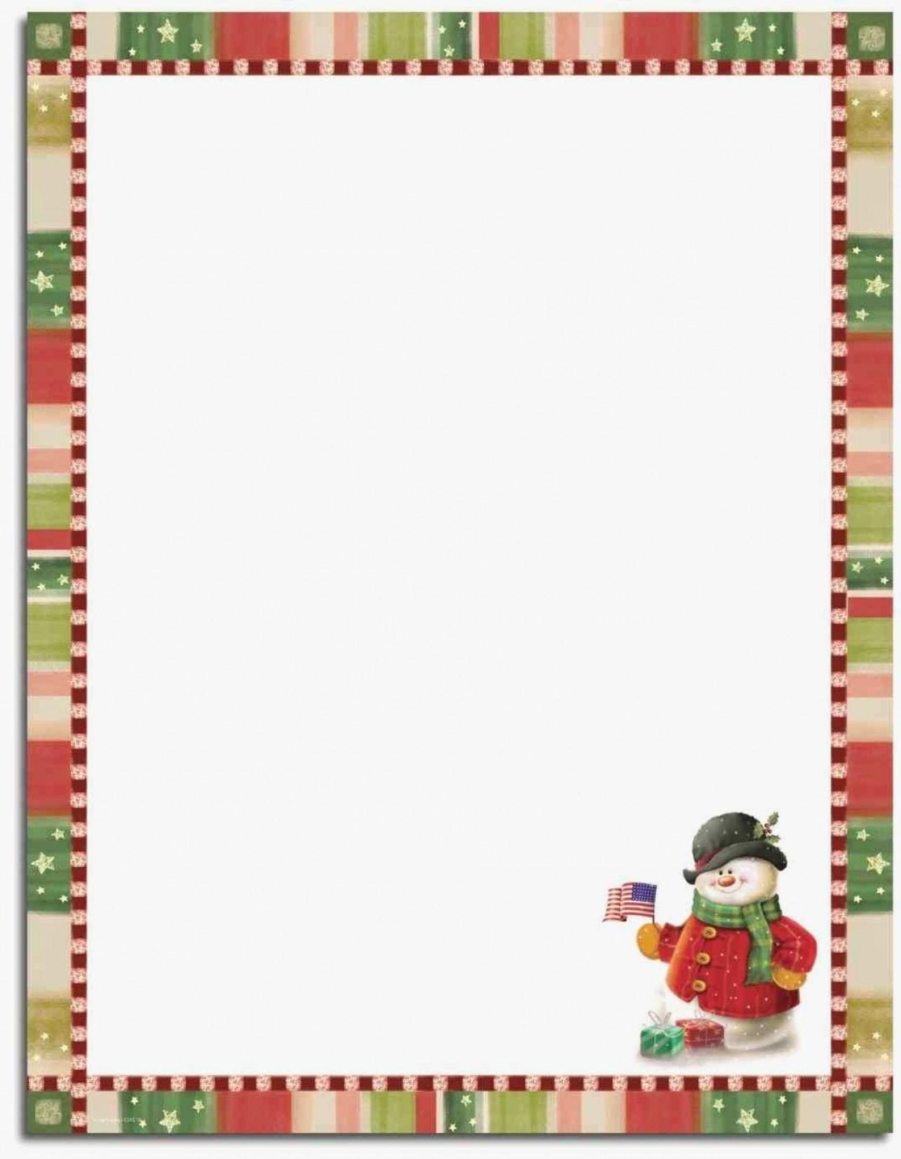 Free Holiday Stationery Templates Beautiful 76 Free Christmas - Free Printable Christmas Stationery Paper