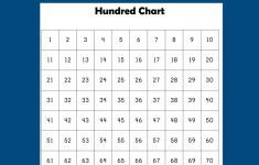 Free Hundred Chart Printable – Creative Family Fun – Free Printable Hundreds Chart