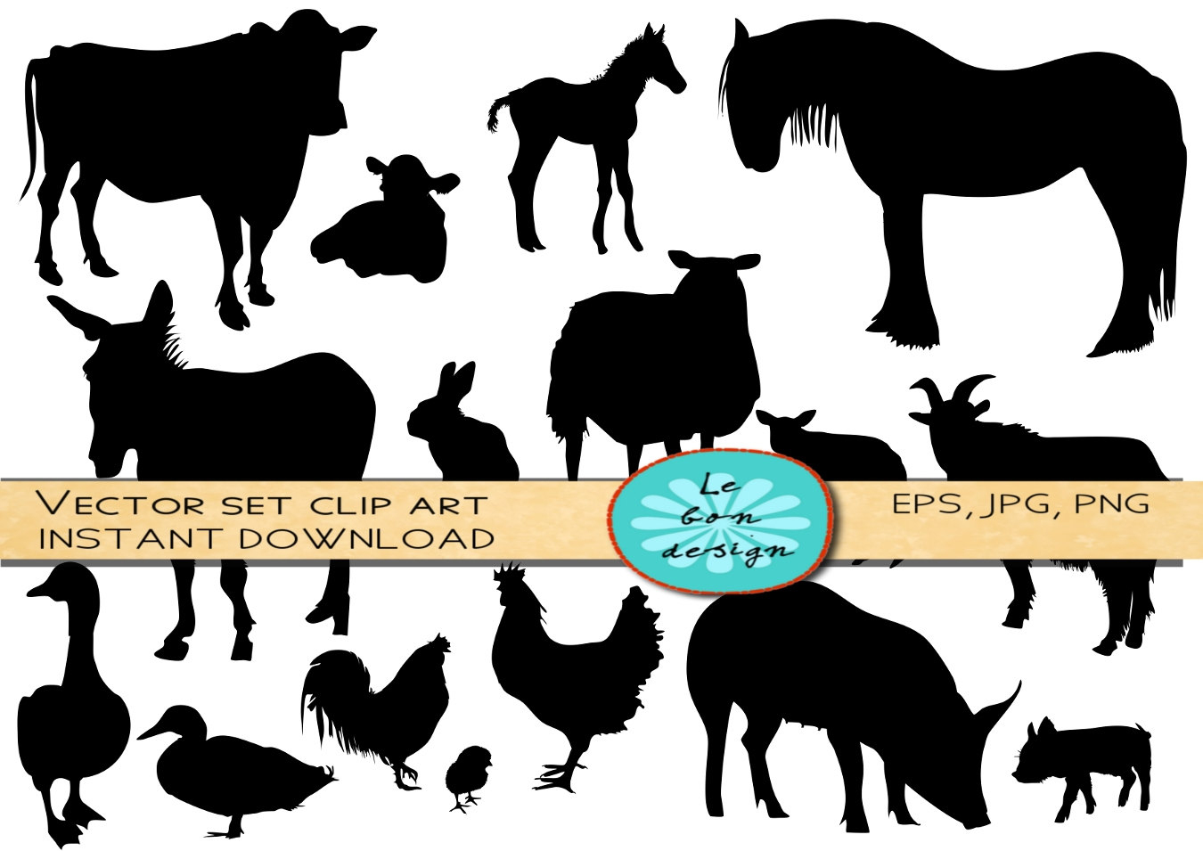 Free Images Of Farm Animals, Download Free Clip Art, Free Clip Art - Free Printable Farm Animal Clipart