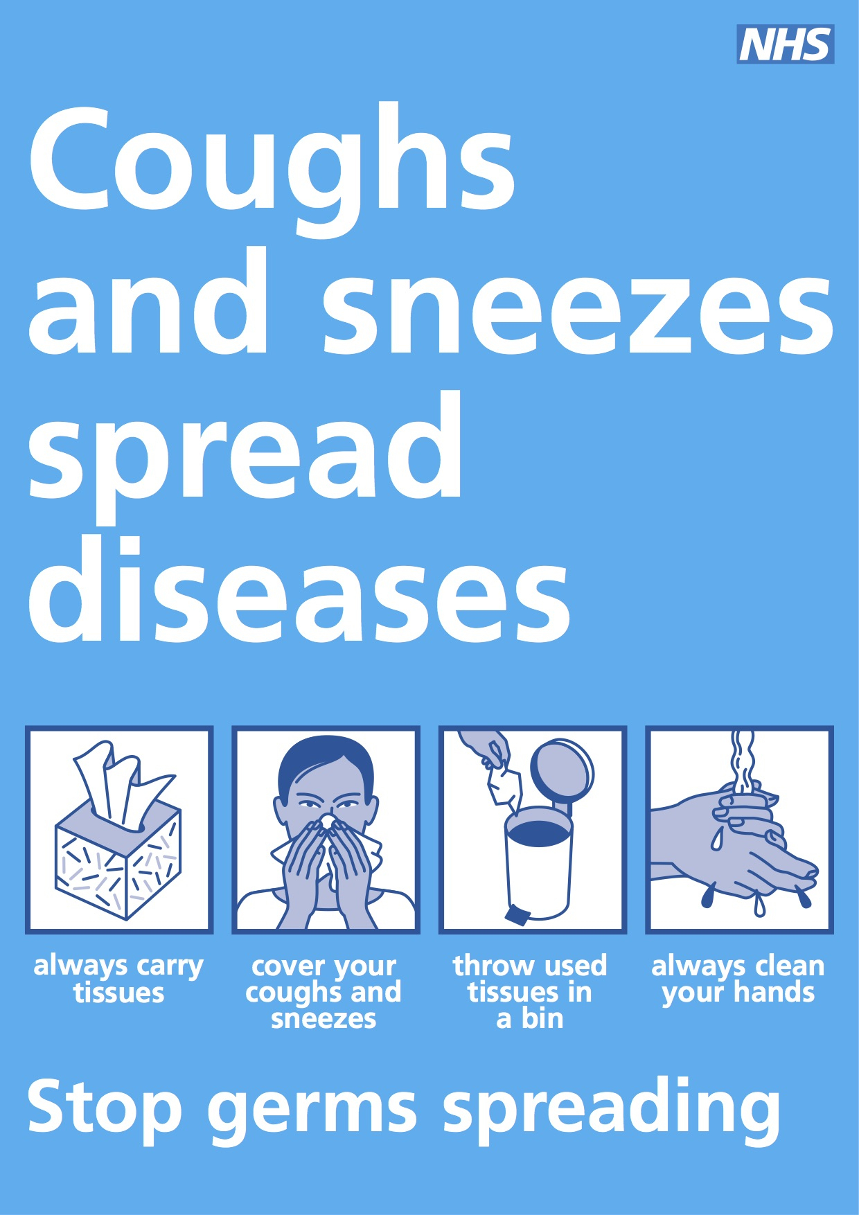 Free Infection Control / Handwashing Poster Downloads - Free Wash Your Hands Signs Printable