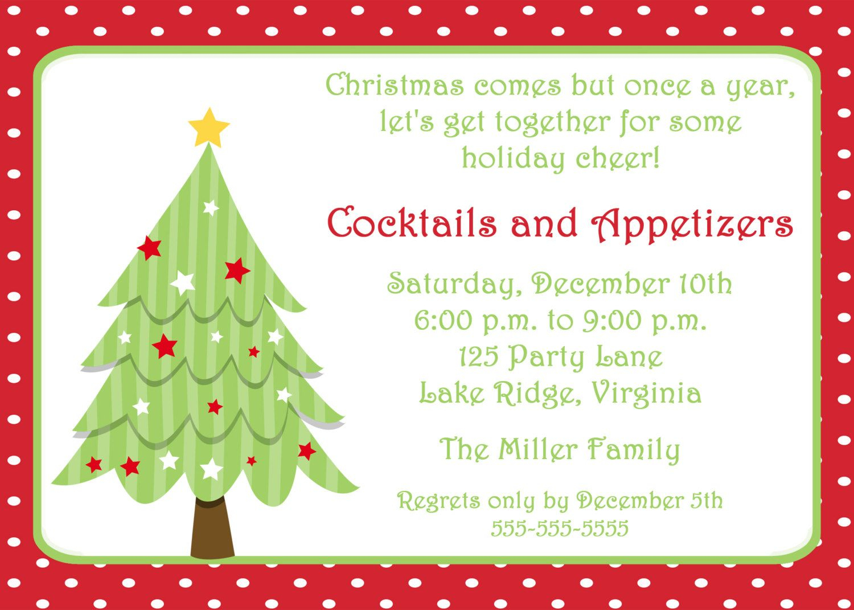 Free Invitations Templates Free | Free Christmas Invitation - Holiday Invitations Free Printable